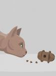 Диспенсер корма для кошек