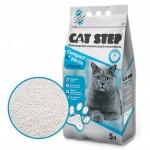 Наполнитель Cat Step Compact White комкующийся, 5 л.