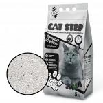 Наполнитель Cat Step Compact White комкующийся с активированным углем, 5 л.