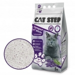 Наполнитель Cat Step Compact White комкующийся с ароматом лаванды, 5 л.