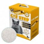 Наполнитель Cat Step Professional Light комкующийся, 6 л (2,5 кг).