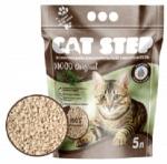 Наполнитель Cat Step Wood растительный комкующийся, 5 л.