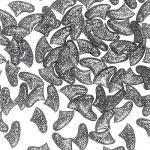 Антицарапки 40 шт, серебрянные. СКИДКА