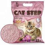 Наполнитель Cat Step Tofu растительный комкующийся с ароматом лотоса, 12 л.