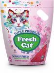 """Наполнитель Fresh Cat с ароматом """"Утренняя свежесть"""" силикагелевый 5л."""