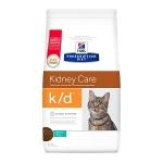 Сухой диетический корм для кошек Hill's Prescription Diet k/d Kidney Care при профилактике заболеваний почек, с тунцом 400 г.