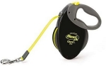 Flexi рулетка Giant Neon L (до 50 кг) 8 м светоотражающий ремень