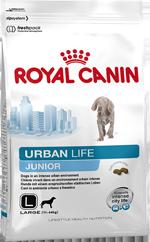 URBAN JUNIOR LARGE DOG для щенков крупных пород живущих в городе