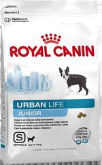 URBAN JUNIOR SMALL DOG для щенков мелких пород живущих в городе