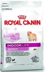 INDOOR JUNIOR корм для щенков мелких пород живущих в помещении
