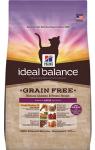 купить Hill's Ideal Balance Cat для кошек с курицей и картофелем, вес 2 кг. беззерновой