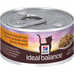 купить Hill's Ideal Balance Wet Cat консервы для кошек с индейкой, вес 82 гр.
