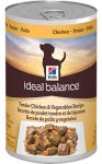 купить Hill's Ideal Balance Wet Dog консервы для собак с курицей и овощами, вес 363 гр.